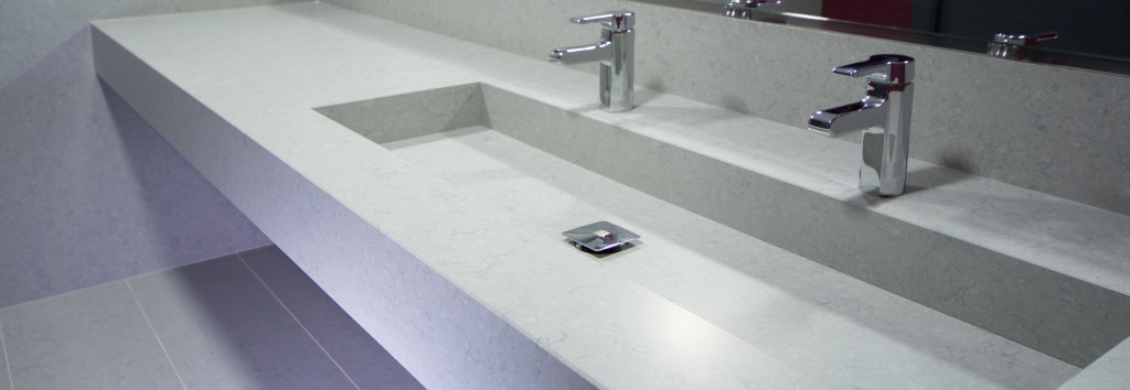 Bathroom worktop and washbasin Cygnus 1