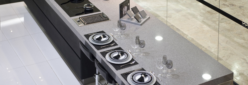 Kitchen Worktop Chrome