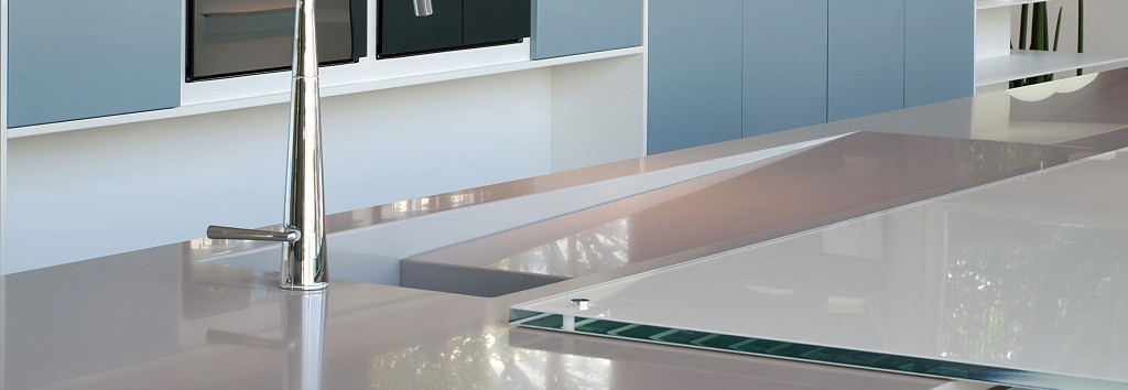 Kitchen Worktop and sink Kensho
