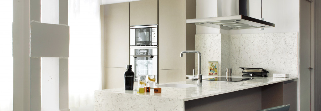 Modern Kitchen Worktop Blanco Orion