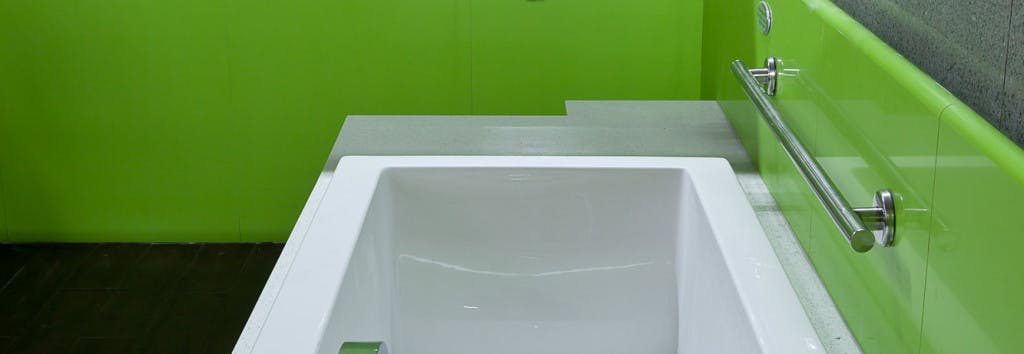 Bathroom walling Verde Fun