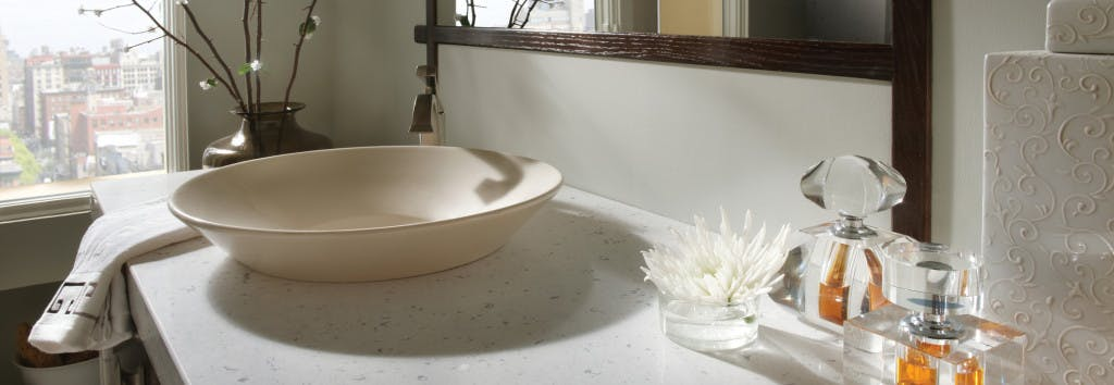 Bathroom Countertop Bianco Rivers