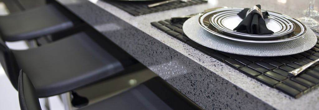 Kitchen Worktop Chrome 6