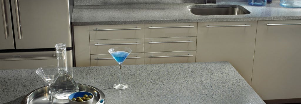 Kitchen Worktop Chrome 4