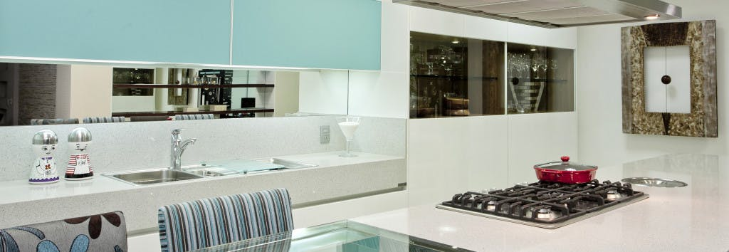 Kitchen Worktop White Platinum