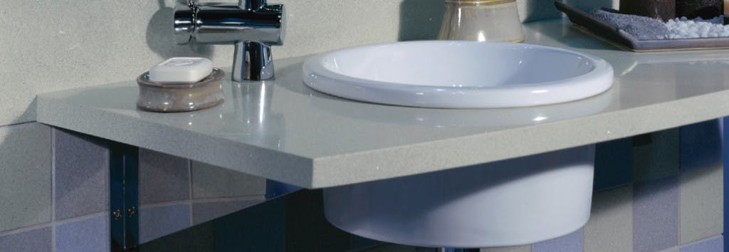 Bathroom Countertop Aluminio Nube
