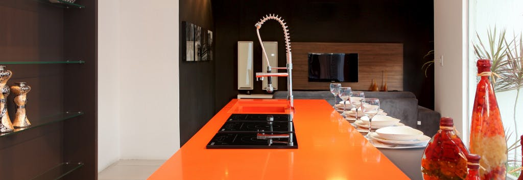 Kitchen Worktop Naranja Cool 1