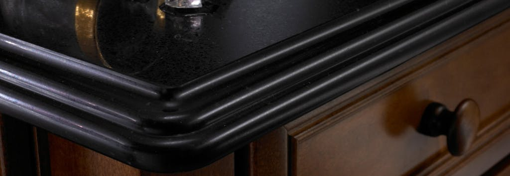 Kitchen Worktop detail Negro Anubis