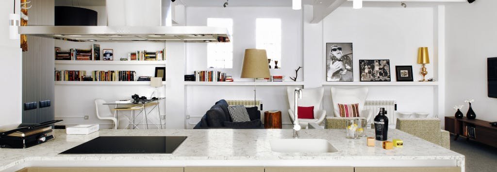 Countertop and sink Blanco Orion